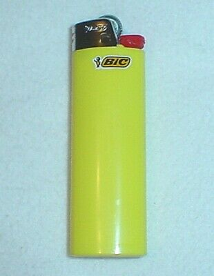Bic Classic Full Size Lighter, Yellow, A Nice Color, Brand New