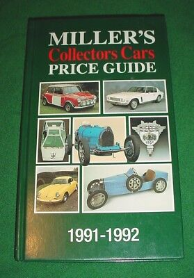 Miller's Collectors Cars Price Guide 1991-1992, Vol. I