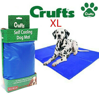 Xxl Pet Cooling Gel Mat Bed Dog Cat Summer Heat Relief Non Toxic Cushion Pad
