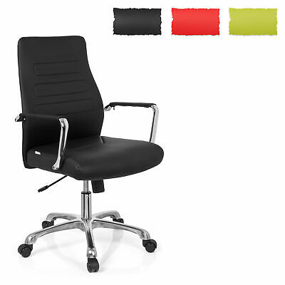 Office Chair Executive Chair Ergonomic Bakcrest PU Leather TEWA hjh OFFICE