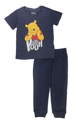 Winnie The Pooh Toddler Boys S/S Top Two-Piece Jogger Pant Set Size 2T 3T 4T