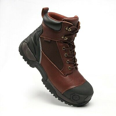 Men's Work Boots Composite Toe Anti-Water/Oil/Puncture Best True Leather Quality
