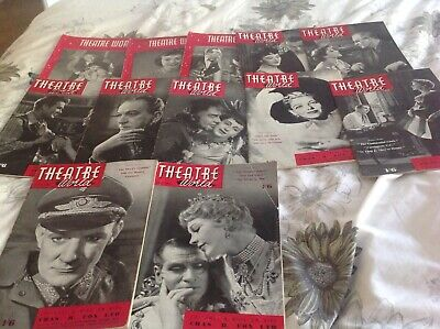 Magazine 12 issues of theatre world please see discription