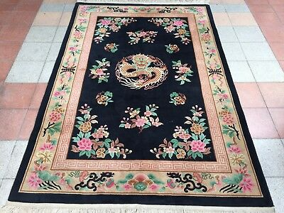 Tapis chinois ancien chinese Rugs tappeto antico cinesi Teppiche chinas alfombra