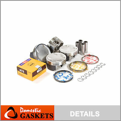 PISTONS W/ RINGS @0 50mm fit 99-05 Subaru Forester Impreza