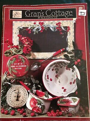 Gran's Cottage Tole Decorative Painting Pattern Instruction Ros Stallcup