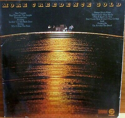 Lp-  Creedence Clearwater Revival - Ccr =  Gold - 1973