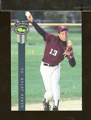 1992 Classic Four Sport DEREK JETER #231 Rookie New York Yankees (AY22)