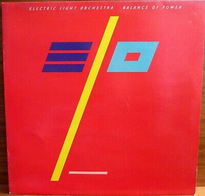 Lp-  Electric Light Orchestra - Elo = Balance Of Power - Mit Songtexte - 1986