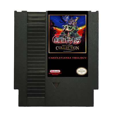 Castlevania Remix Nintendo NES Classic Game Cartridge Blood Moon Chorus Overflow