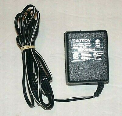 Genuine AT&T Model: TP-M AC-AC Power Supply  Output: 9V-800ma