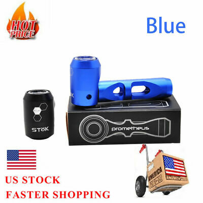 Metal Tobacco Smoking Pipes For dry herb Aluminum cigarette pipe(Blue)