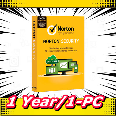 Norton Internet Security 2019 Antivirus Premium 1 Year / 1 PC E-delivery