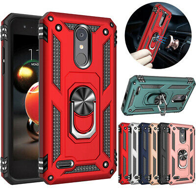 For LG Aristo 2/Phoenix 4/Fortune 2/ Dynasty Shockproof Armor Cover Hybrid Case