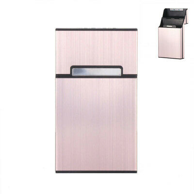 Light Cigarette Cigar Case Pocket Container Aluminum Tobacco Storage Holder Box