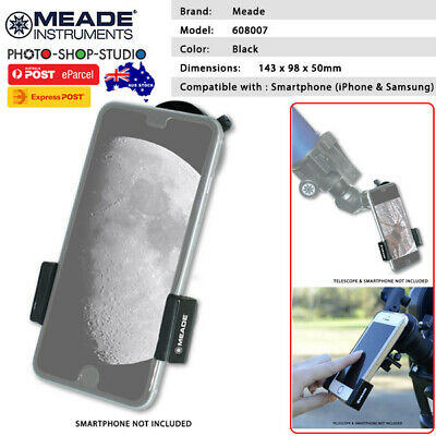 AU STOCK*Meade Telescope Smart Phone Adapter Holder for iPhone & Samsung
