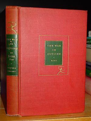The War In Outline 1914-1918 WWI Verdun & The Somme, the Modern Library