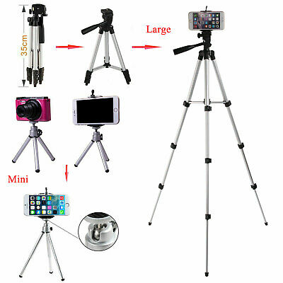 360° Stretchable Phone Camera Tripod Stand Mount Holder Video For Most Phone Cam