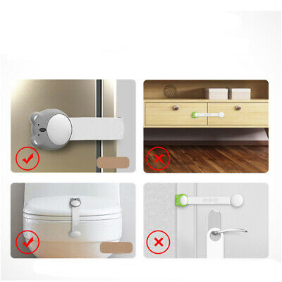 New Lock Home Cute Baby Toddler Safe Cabinet Door Drawer Security Protect B