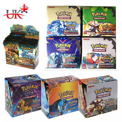 NEWEST 324pcs Pokemon TCG Booster Box English Edition Break Point 36 packs cards