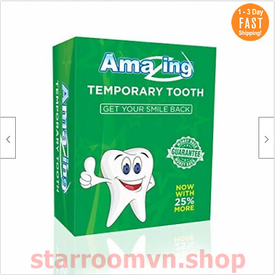 Kit De Reemplazo Dental Diente Postizo Temporal Amazing Temporary Tooth