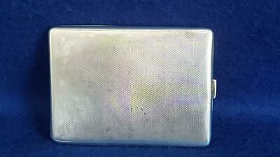 Superior Quality Asprey Art Deco Sterling Silver Cigarette Case Ches 1927 135g