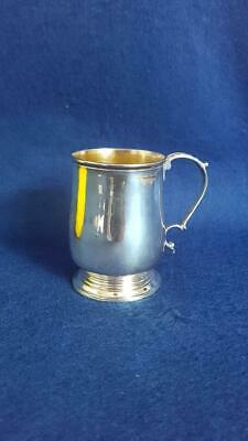 Excellent Early Geo III Ldn 1765 Sterling Silver Crested Mulled Wine Mug 108g