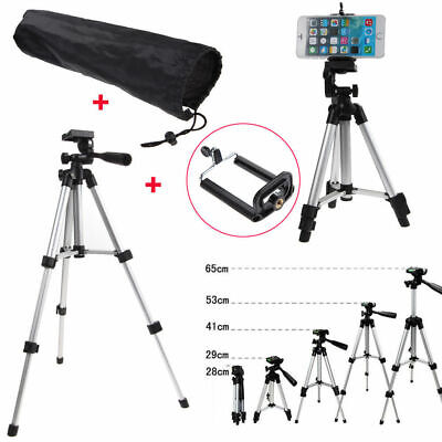 Tripod Stand Mount Holder For Digital Camera Camcorder Phone iPhone Samsung UK