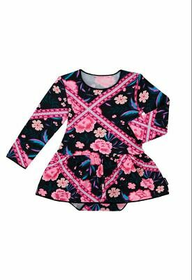 Bonds Baby Long Sleeve Stretchies Balletsuit sizes 00 0 1 2 Tapestry Floral