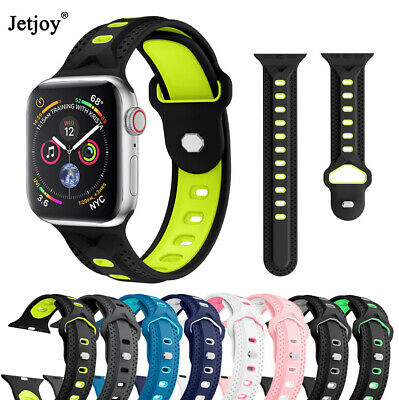For Apple Watch Series 4 3 2 1 Silicone Wrist Band Strap Bracelet 38/40/42/44mm