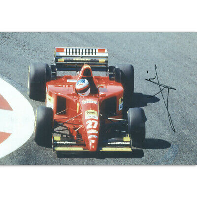 Jean Alesi - Autograph - Signed Colour Photograph