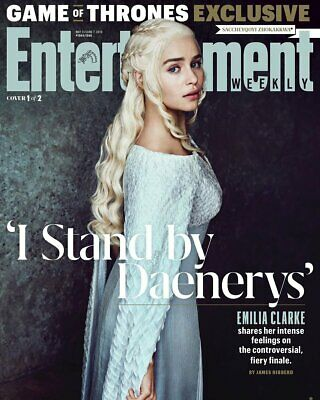 Entertainment Weekly Magazine May 2019: Game Of Thrones Exclusive Emilia Clarke