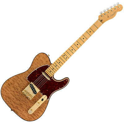 Fender Rarities Telecaster - MN - Natural Red Mahogany Top
