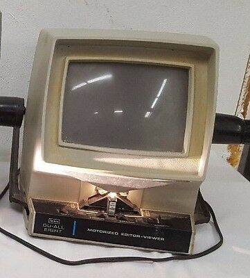 Vintage Sears Dual-All Eight Motorized Editor-Viewer
