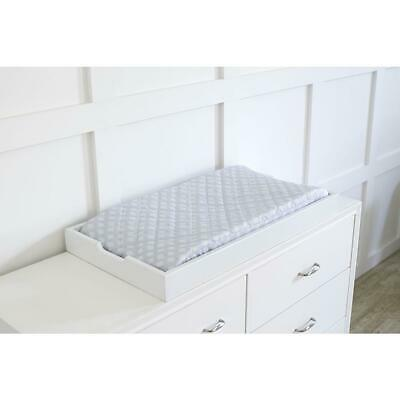 Just Born Dream Changing Pad Cover - Silver Grey