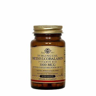 Solgar Sublingual Methylcobalamin Vitamin B12 1000 mcg
