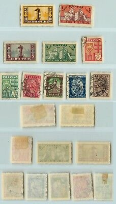 Lithuania 1934 SC 286-295 mint or used . rtb403