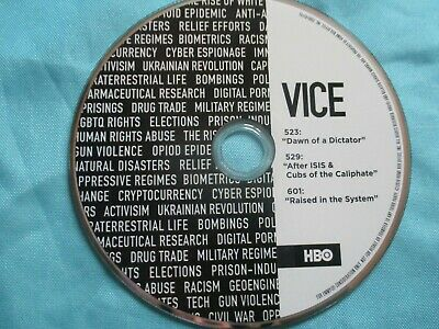VICE Shane Smith 2018 HBO NEW DVD TV Informational Series EMMY FYC Screener