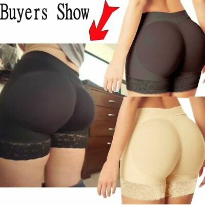 Women's Padded Butt Lift Hip Enhancer Seamless Booty Shorts Shaper Tummy Control
