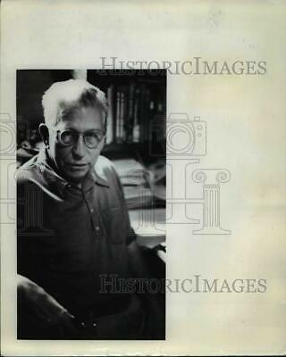 1974 Press Photo Francis Sell Conquille River - ora88532