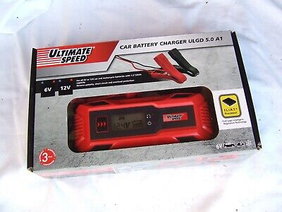 Ultimate Speed Car & Motorbike Battery Charger  ULGD 3.8 B1 6V 12V Short Circuit