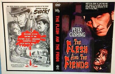 The Flesh And The Fiends DVD Peter Cushing, Amicus, Hammer, Tyburn, Rare Horror