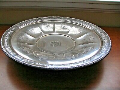 """Towle Sterling Louis XIV 12"""" Footed Tray"""