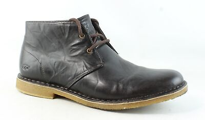 UGG Mens Leighton Chocolate Ankle Boots Size 12 (355108)