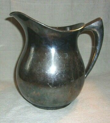 Vintage Pairpoint Quadruple Silver Plate Water Pitcher 1811 3