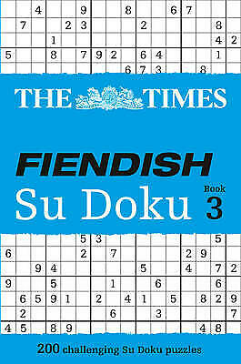 The Times Fiendish Su Doku Book 3, The Times Mind Games