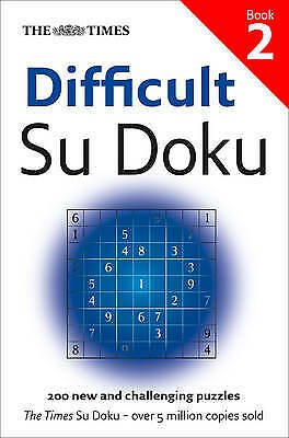 The Times Difficult Su Doku Book 2, The Times Mind Games