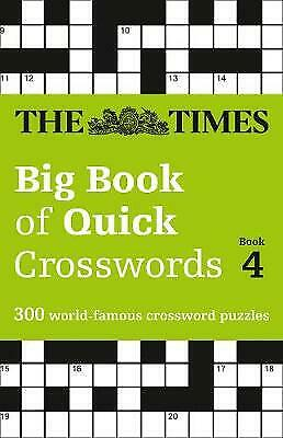 The Times Big Book of Quick Crosswords Book 4, The Times Mind Games