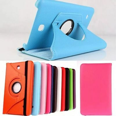 For Samsung Tab E8.0 7.0 9.6 T110 T377 T560NU Leather 360° Smart Case Cover