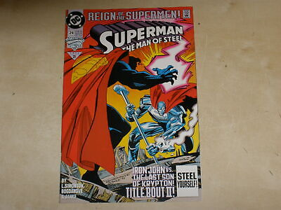 1993 DC Comics Superman Reign of the Supermen #24 MINT UNREAD